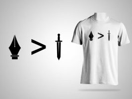 The Pen Tool and The Sword by DesignPhilled