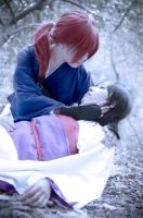 Kenshin and Tomoe by SerahSerrin