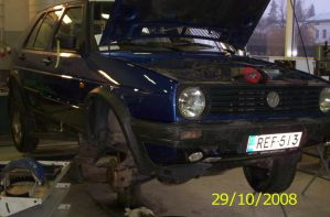 VW Golf Country Syncro repair by Orkekum