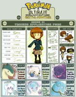 PKMN:UBF Trainer Sheet by celiere