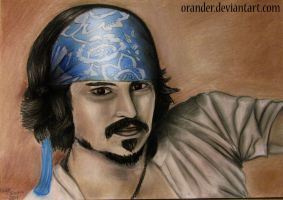 Johnny Depp by Orander