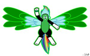 On Wings of Emerald by SuperKruxx