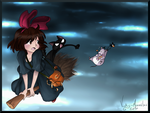 Kiki and the Candy thief by Vicky-Mionelei