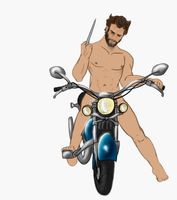 Stripped Down: Wolverine WIP IIII by Phoenix-Cry