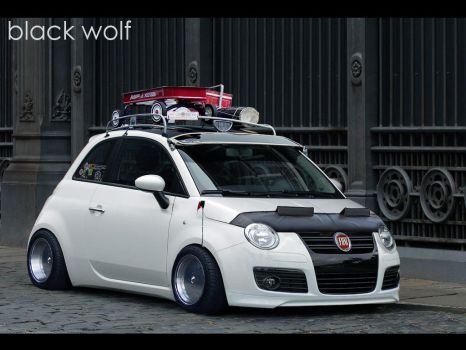 Fiat 500 by The-king-of-chaos
