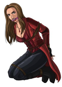 Scarlet witch by McBound