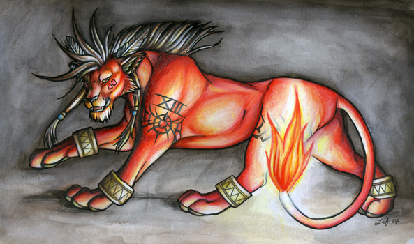 Red XIII by SummerPapillon