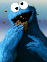 Cookie Monster by Carnage-Khan