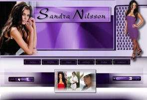 Sandra Nilsson Website 1 by PatrickJoseph