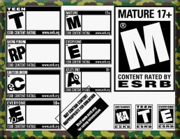 ESRB Custom Shapes by lee-dog
