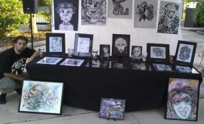 Project Gainseville Art Fest 2012 by AntonSterling