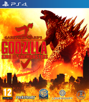 Fan Made - Godzilla The Video Game PS4 Cover by KingAsylus91