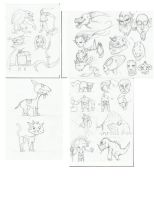 sketches by jeckling