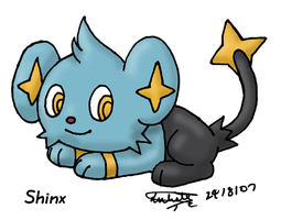 Shinx by louisalulu