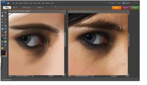 Eva Green Eye Detail - 1 hour by al-turnertive