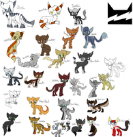 Warriors Change of Fate - Thunderclan Alliances by Evildraws