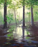 Mantons Swamp by artsaus