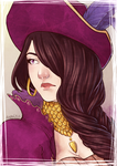 :COMP: Portrait of Eris by anako-chan
