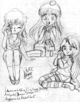Collab- Achlys, Lilianne and Abytahh by Abyzz01