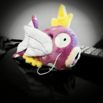 Purple Bubbles Magikarp Beanie by TheHarley