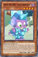 Crystal Armor Spike (MLP): Yu-Gi-Oh! Card by PopPixieRex