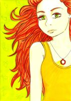 Clary a Goddess of Fire by missanimestranger