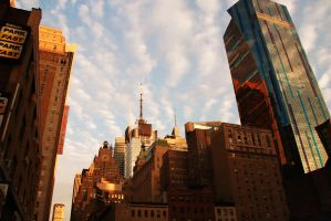 Sunset in the Big Apple by Krash-Test