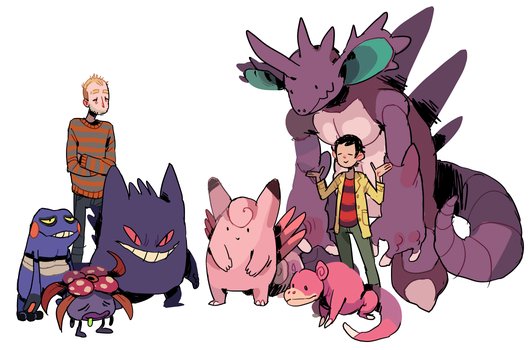 what if pokemon by Kichaa