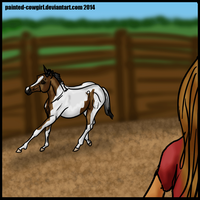 Nie-Round Pen 1 by painted-cowgirl