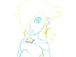 Rosalina sketch by TeamBlueCoin