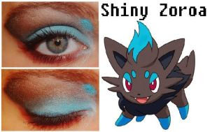 Pokemakeup Shiny Zorua by nazzara