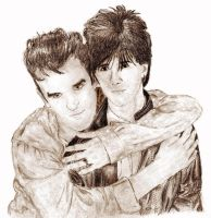 Morrissey and Marr by cathy001