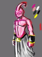 Kid buu preview by First1stClass
