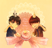 Tao and Baekhyun BD by karumeru