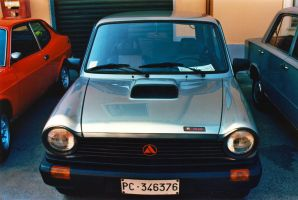1983 Autobianchi A112 Abarth 70 HP by GladiatorRomanus