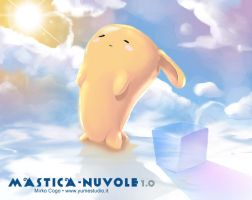 Mastica Nuvole - chews clouds by michan