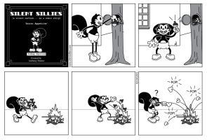 Silent Sillies 53 - Acorn Appetite by JK-Antwon