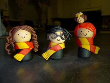 Harry Potter and Friends by hyperliltenshi
