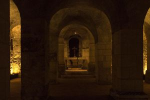 Blois cathedral crypt by hubert61