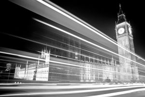 Big Ben and the Lights by AnnaFrances