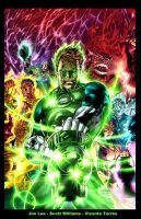 Green Lantern Cover by VicenteT