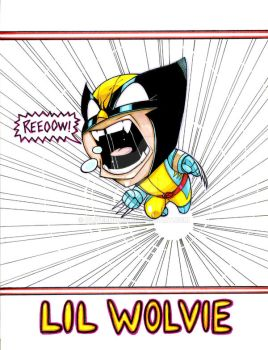 Lil Wolvie by olivernome