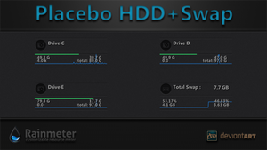 Placebo HDD+Swap by WwGallery