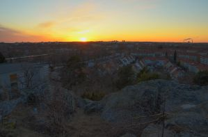 Sunset from Mountain Top IX by HenrikSundholm