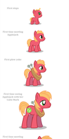 Big Macintosh - Young and Old by anarchemitis