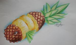 Pineapple fish by Blixtra