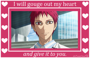 Kuroko no Valentine: How Akashi Flirts by FrozenClaws