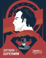 Batman v Superman: Dawn of Justice by Jurassickevin
