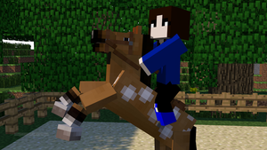 Minecraft Me! [WHOA! There] by RubytheCat12