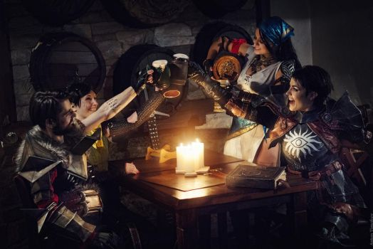 Dragon Age Cosplay 1 by HydraEvil